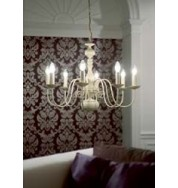 96268-Cr - Poesy Pendant - 8 Light