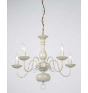 96265-Cr - Poesy Pendant - 5 Light