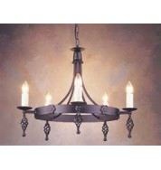 Belfry 5 Light Chandelier Black
