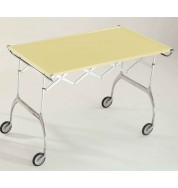 Battista Folding Trolley - Cream