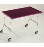 Battista Folding Trolley - Dark Purple