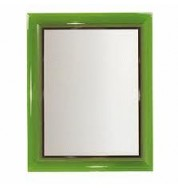 Francoise Ghost Mirror Large - Transparent Green