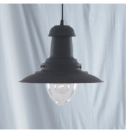 BLACK FISHERMAN PENDANT LAMP
