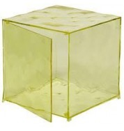 Optic With Door - Transparent Yellow