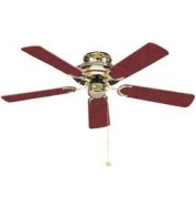 Mayfair Ceiling Fan - Polished Brass