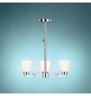 Wallingford 3 Lamp Ceiling Lamp Polished Chrome