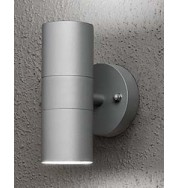 Modena Up + Down Outdoor Wall Washer Light - Grey