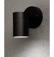 Modena Down Outdoor Wall Washer Light - Black
