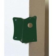 Corner Bracket For Outdoor Lights - Green