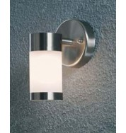 Modena Down Outdoor Wall Light - Opal Glass