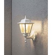 Wall Lamp Square Outdoor Light - White