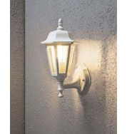Wall Lamp Small Outdoor Light - White