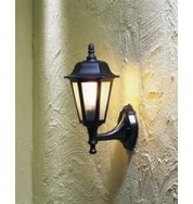 Wall Lamp Small Outdoor Light - Black