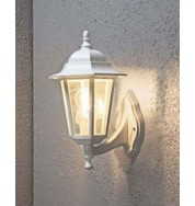 Wall Lamp Large Outdoor Light - White