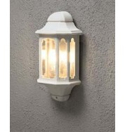 Wall Lamp Flush Outdoor Light - White