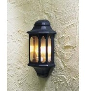 Wall Lamp Flush Outdoor Light - Black