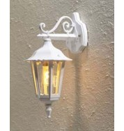 Forli Outdoor Wall Light Down - White