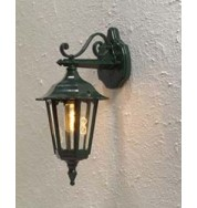 Forli Outdoor Wall Light Down - Green