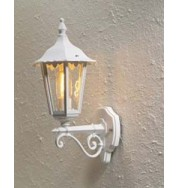 Forli Outdoor Wall Light Up - White