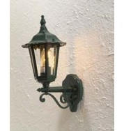Forli Outdoor Wall Light Up - Green