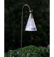 Assisi Outdoor Non Electric Cone Post Light - Down