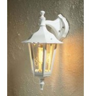 Firenze Small Outdoor Down Wall Light - White