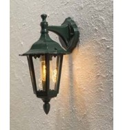 Firenze Small Outdoor Down Wall Light - Green