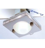 El-20015 Ip65 Square Recessed Shower Light