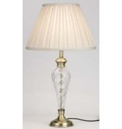 079-An - Table Lamp Antique Brass Plate