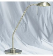 ANT BRASS HALOGEN FLEXI TABLE LAMP