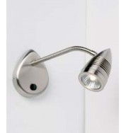 658-Sc - Gu10 Switched Wall Bracket Satin Chrome