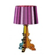 Kartell Bourgie Table Lamp Fuchsia