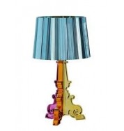 Kartell Bourgie Table Lamp Light Blue