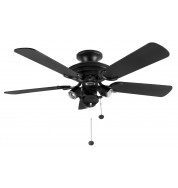 "Mayfair Venice Ceiling Fan 42"" - Matt Black"