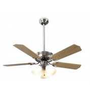 "Vienna Ceiling Fan 42"" - St Steel"