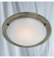 FLUSH GLASS METAL CEILING FITTING