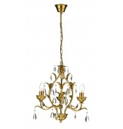 Charleston 3Lt Chandelier Ant Gold - Antique Gold