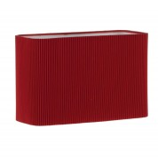 Piza Wb Sh In Micropleat Red - Red